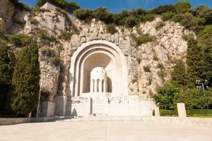 The Nice war memorial